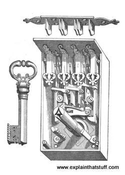 جعبه قفل های قدیمی