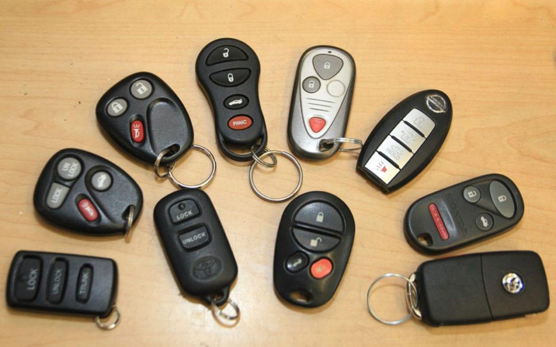 کلید های لیزری خودرو